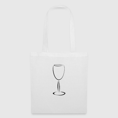 wine glass - Tote Bag