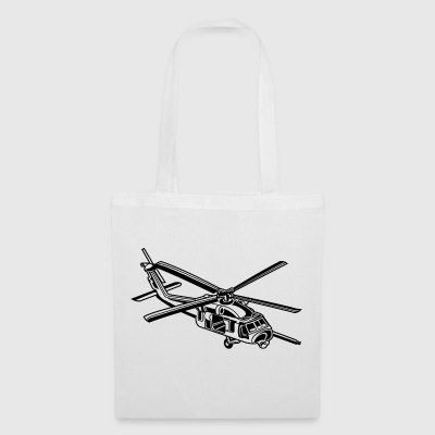 Helicopter / helicopter 01_black - Tote Bag