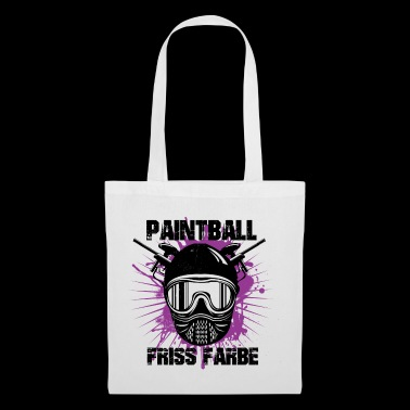 Paintball - color Friss - Bolsa de tela