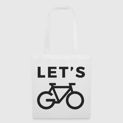 LET´S GO BIKE - Stoffbeutel