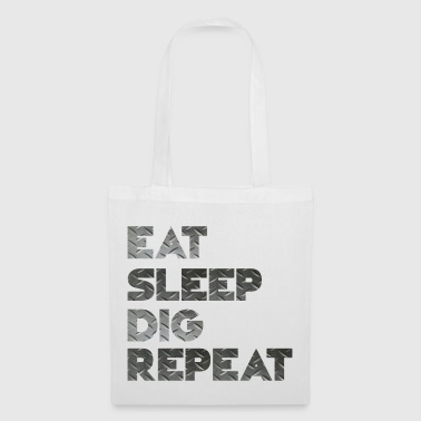 Eat Sleep Cri Repeat - Tote Bag