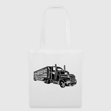 Camion / camion 01_schwarz - Tote Bag