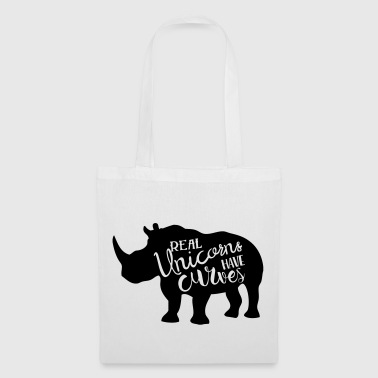 Real Unicorns have Curves! - Tote Bag