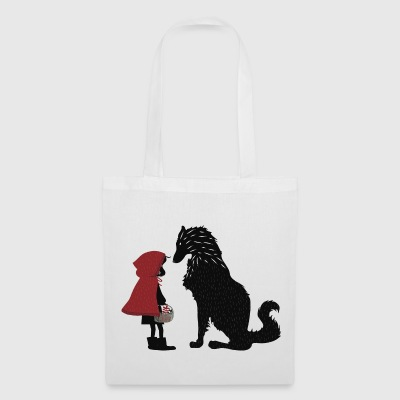 Little Red Riding Hood and the bad wolf - Tote Bag