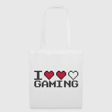 I Heart Gaming Quote - Tas van stof