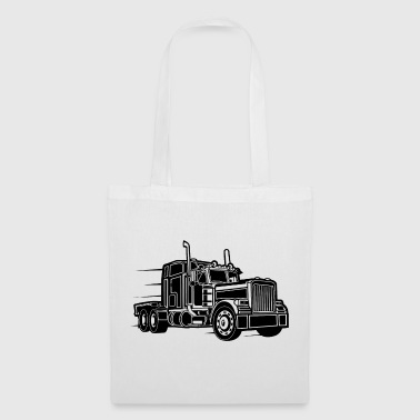 Camion / camion 03_schwarz - Tote Bag
