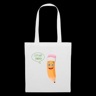Let's get started - Tote Bag