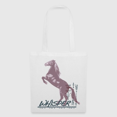 Whisper 3 Étalon Cheval Se Cabre - Tote Bag