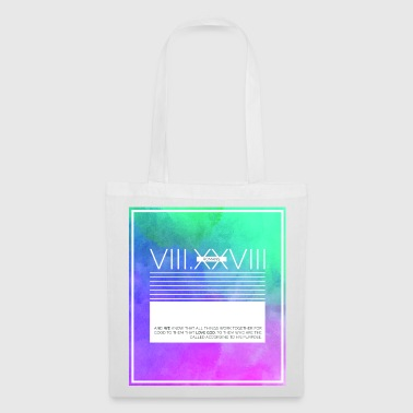 Romans Verse 8:28 - Tote Bag