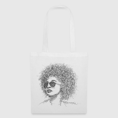 Afro Scribble - Tote Bag