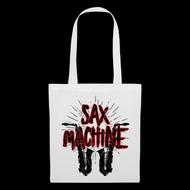 Sax Machine - Saxophone Saxophone Music Instrument - Tote Bag
