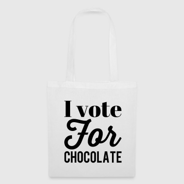 I vote for chocolate - Tote Bag
