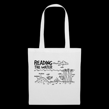 READING THE WATER - Tote Bag