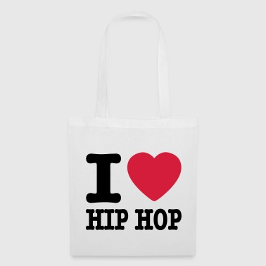 I love hiphop / I heart hiphop - Tote Bag