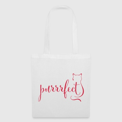 purrfect purrrfect - Tote Bag