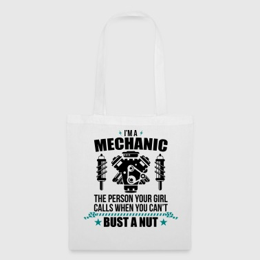 Funny Mechanic - mechanic - Tote Bag