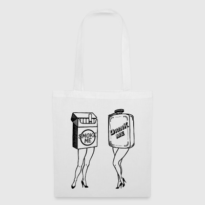 Smoke me and Drink me - Tote Bag