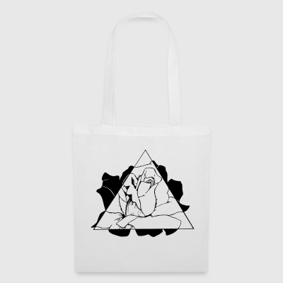 triangle Rose - Tote Bag