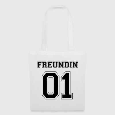 Girlfriend - Black Edition - Tote Bag