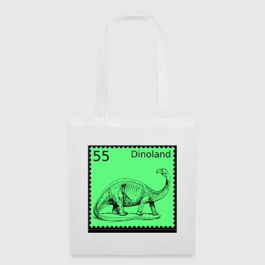 Dino Land Stamp - Tote Bag