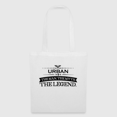 Man myth legend gift Urban - Tote Bag