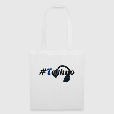 #Techno - Tote Bag