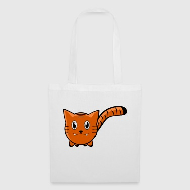 Tiger Cartoon - Tote Bag