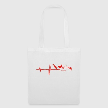 Heartbeat Indonesia gift - Tote Bag