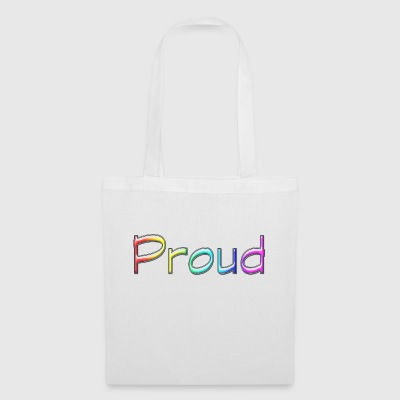 Fier arc-en-ciel - Tote Bag