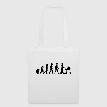 Baby stroller evolution - Tote Bag