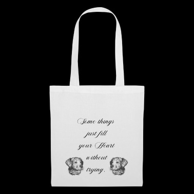 some thing just fill your heart without trying dog - Tote Bag