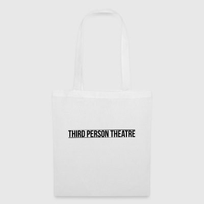 THIRD PERSON THEATRE Text Logo - Tote Bag