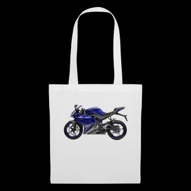 Motorcycle Scooter Racer Blue Gift Idea - Tote Bag