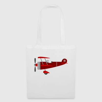 Plane red - Tote Bag
