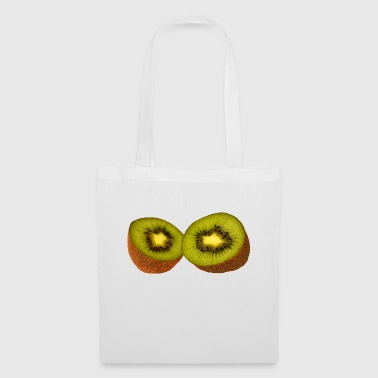 Kiwi, fruit, tropical fruit, health, healthy, - Tote Bag