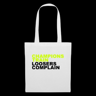 Champions Loosers Train se plaignent - Tote Bag
