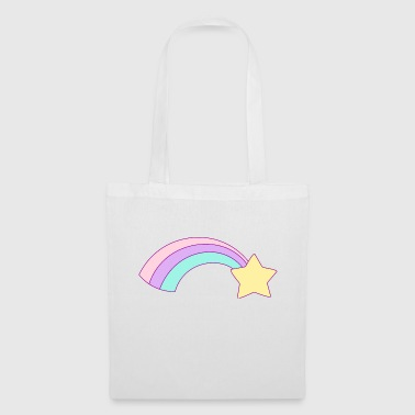 Shooting Star Rainbow Gift T-shirts - Tas van stof