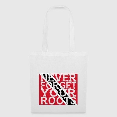never forget roots home Trinidad Tobago - Tote Bag