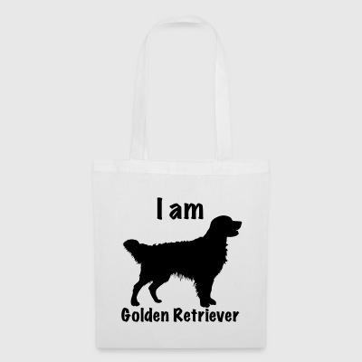 Je suis Golden Retriever - Tote Bag