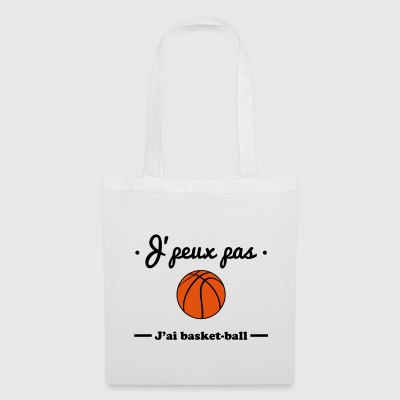J'peux pas j'ai basket-ball - Tote Bag