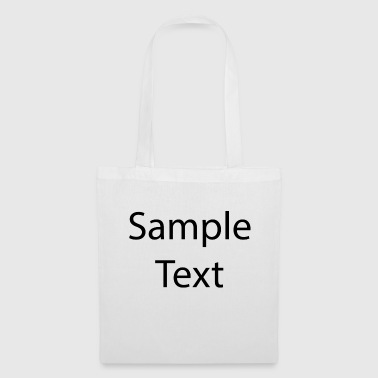 Sample text - Tote Bag
