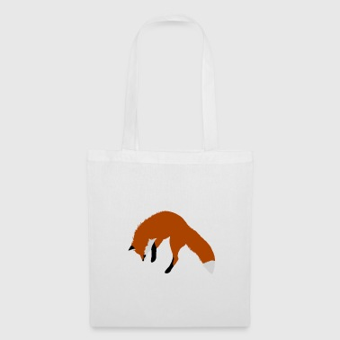 Red Fox Pouncing - Borsa di stoffa