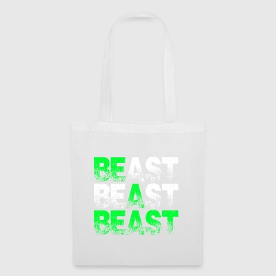 Beast Beast Beast Motivation - Stoffbeutel