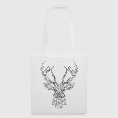 cerf trait - Tote Bag
