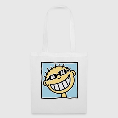 A grinning Tourist - Tote Bag