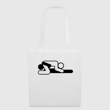 A couple in 69 position - Tote Bag
