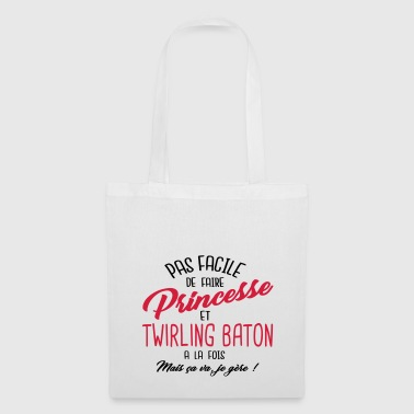 Princesse et twirling baton - Tote Bag