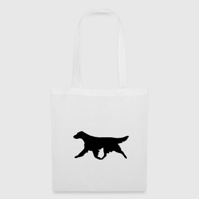 Retriever Flatcoated (Noir) Trot - Tote Bag