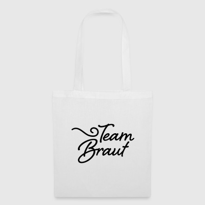 team bride - Tote Bag