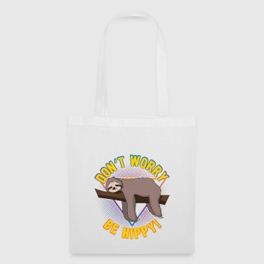 Don't Worry Be Hippy Gift - Tote Bag
